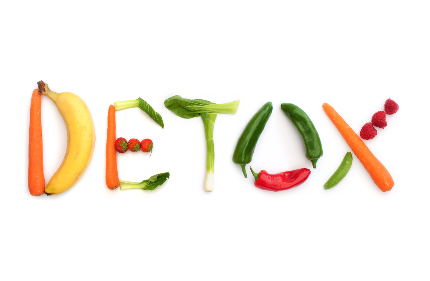 Detox in vegetables